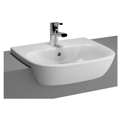 Zentrum Semi-Recessed Basin, 50 cm