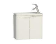 56415 - Nest Trendy Narrow Washbasin Unit 60 cm, White
