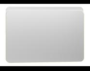 56420 - Nest Trendy Ledli Duz Ayna 100 cm,  Beyaz