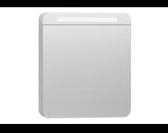 56422 - Nest Trendy Dolaplı Ayna 60 cm,  Beyaz Sağ