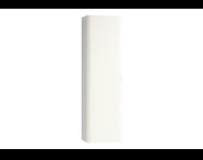 56428 - Nest Trendy Boy Dolap Tek Kapakli, Beyaz Sağ