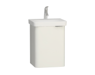 56431 - Nest Single Doorı Washbasin Unit 45 cm, White, Left