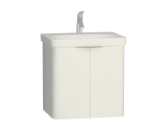 56433 - Nest 2 Doors Washbasin Unit 60 cm, White