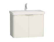 56434 - Nest 2 Doors Washbasin Unit 80 cm, White