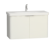 56435 - Nest 2 Doors Washbasin Unit 100 cm, White