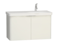 56436 - Nest 2 Doors Washbasin Unit 100 cm, White