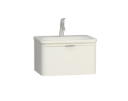 56437 - Nest Trendy 1 Drawer Washbasin Unit 60 cm White