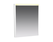 56449 - T4 Illuminated Mirror, 60 cm, High Gloss White