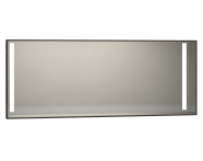 56479 - Memoria Illuminated Mirror, 150 cm, Chestnut