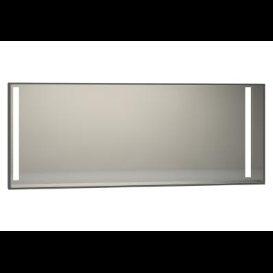 Memoria Aydınlatmalı Ayna, 150 cm,  Parlak Gri