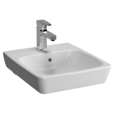 M-Line Washbasin, No Overflow Hole, 40 cm