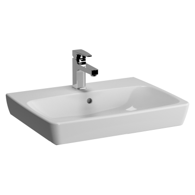 M-Line Washbasin, No Overflow Hole, 60 cm