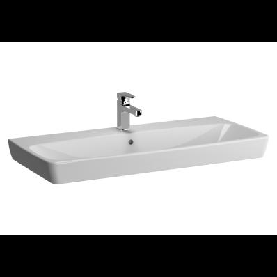 M-Line Washbasin, No Overflow Hole, 100 cm