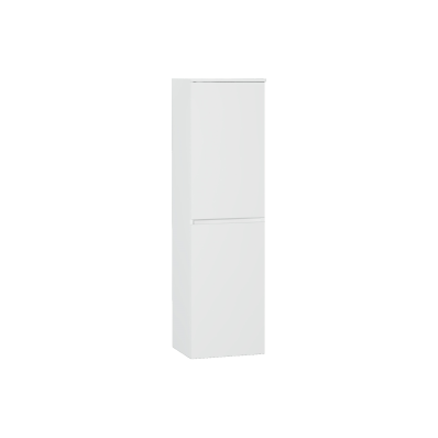 Shift+ Tall Unit, 35x35x160 cm, High Gloss White, Right