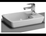 5665B003-0029 - M-Line Countertop Washbasin, 50x38 cm