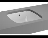 5666B003-1082 - Metropole Undercounter Basin, 37cm