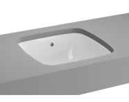 5666B003-1083 - M-Line Undercounter Washbasin, No Overflow Hole, 37 cm