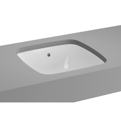 M-Line Undercounter Washbasin, No Overflow Hole, 37 cm