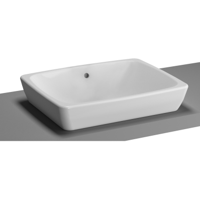 M-Line Countertop Washbasin, No Overflow Hole, 50 cm