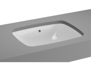 5667B003-1083 - M-Line Undercounter Washbasin, No Overflow Hole, 47 cm
