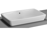 5668B003-0016 - M-Line Countertop Washbasin, No Overflow Hole, 60 cm