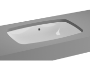 5668B003-1083 - M-Line Undercounter Washbasin, No Overflow Hole, 57 cm