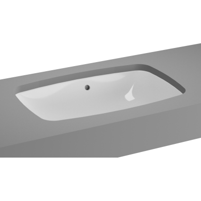 M-Line Undercounter Washbasin, No Overflow Hole, 57 cm