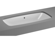 5669B003-1083 - M-Line Undercounter Washbasin, No Overflow Hole, 77 cm