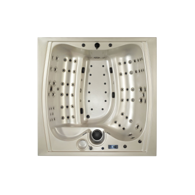 Well-Joy Spa - 220x220 cm 6  Seat, Blue
