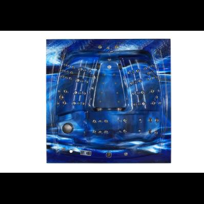 Well-Nature Spa - 220x220 cm 1 Yatma 4 Oturmalı,Mavi