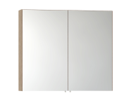 56748 - Mirror Cabinet, Classic, 80 cm, Oak