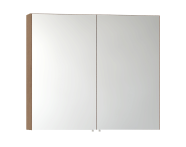 56749 - Mirror Cabinet, Classic, 100 cm, Golden Cherry