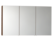 56755 - Mirror Cabinet, Classic, 120 cm, Walnut