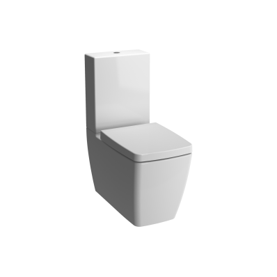 Metropole Close-Coupled WC Pan without Bidet Pipe
