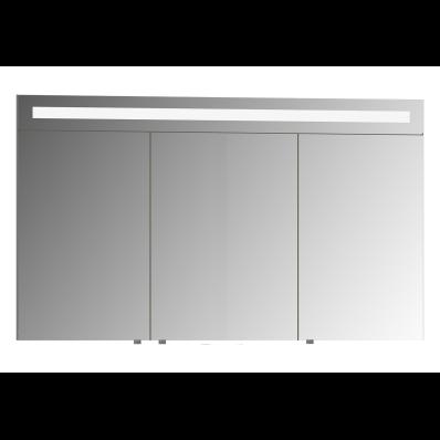 Mirror Cabinet, Elite, 120 cm, White High Gloss