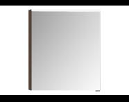 56806 - Mirror Cabinet, Premium, 60 cm, Dark Oak Left