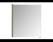 56808 - Mirror Cabinet, Premium, 60 cm, Metallic Mink Left