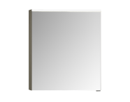 56811 - Mirror Cabinet, Premium, 60 cm, Grey Birch High Gloss Left