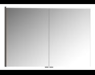 56825 - Mirror Cabinet, Premium, 100 cm, Light Fume