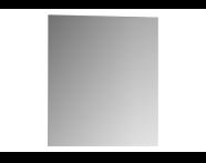 56851 - Classic Metal askılı ayna, 60 cm