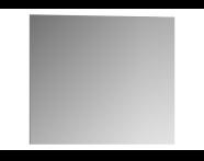56852 - Mirror, Classic Metal, 80 cm