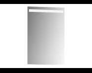 56859 - Mirror, Elite, 45 cm