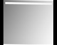 56861 - Mirror, Elite, 80 cm
