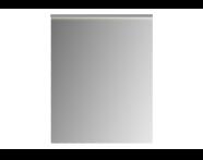 56864 - Mirror, Premium, with Led Lighting, 60 cm