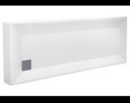 56890001000 - T80 170x80 cm Rectangular Monobloc
