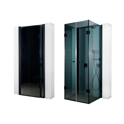 Secret Zone Storage Unit Compact Shower Unit 204x120x98 cm, Düz Duvar