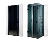 56900003000 - Secret Zone Storage Unit Compact Shower Unit 204x120x98 cm, Left