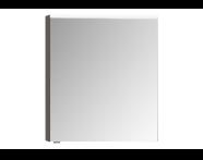 56995 - Mirror Cabinet, Premium, 60 cm, Light Fume Right