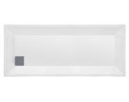 57000005000 - T70 180x70 cm Dikdörtgen Flat(Ayaklı ve Panelli) , Ayak, Sifon