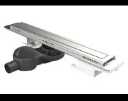 5701121 - SC500 060 Premium Matte Side Siphone
